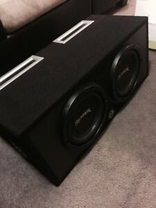 ^^* PREMIER PIONEER SUBWOOFERS IN BASSWORX PORTED ENCLOSURE
