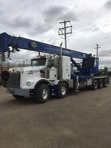 Kenworth T800 T/Tri 42 ton crane truck
