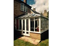 Beautiful conservatory with expensive blinds & already dismantled -RRP.£30,000