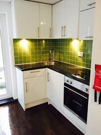 Exceptional studio flat with garden to let in West Kensington. ALL BILLS INCLUDED
