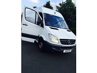 Mercedes Benz LWB Sprinter 313 CDI - Great drive