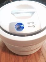 Honeywell Permanent True Hepa Round Air Purifier Germ Reduction