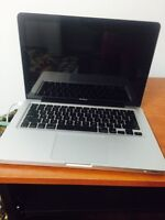 """Urgent selling macbook 13"""" silver color pick up asap"""