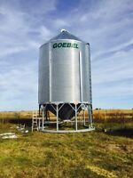 Grain bins build and repairs