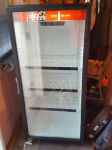 COCA-COLA BEVERAGE FRIDGE ( Delete when Sold )