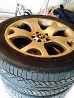 BMW X5  19' Summer Tires & Mags (Vente Rapide)