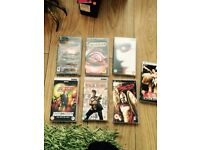 3 Psp games and 4 Psp videos