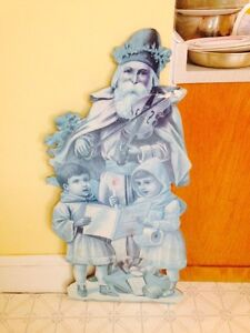 """Large Board Christmas Decoration, 42"""" Tall"""