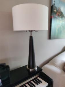 Stylish table lamp.