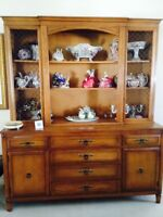 SOLID WOOD CONTEMPORARY CUSTOM MADE DINING ROOM SET - $ reduced