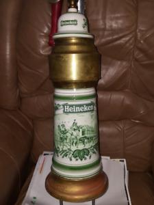 HEINEKEN BEER TOWER  VINTAGE