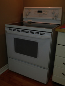Whirlpool Stove - used - ceramic top