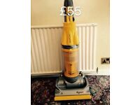 DYSON DC07 FULLY SERVICED MINT CONDITION 6 MONTHS WARRANTY YELLOW ORIGINAL