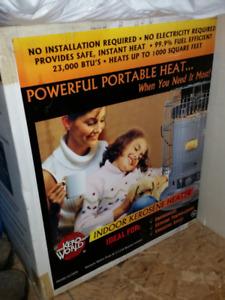 Indoor Kerosene Heater 23,000 BTU