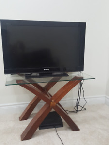 Sony TV bravia 32 inch with Table