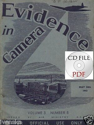 CD File Evidence in Camera 1943 5 Dambusters Moehne  Eder Dams Ford  GM plants