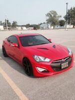 2014 Hyundai Genesis 3.8l coupe GT