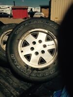 Excellent GMC Rims and Tires