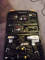 Stanly air tool set