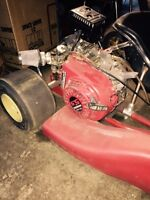 Birel junior kart with 5.5 HP honda