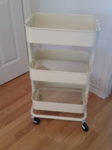 Ikea kitchen or bathroom cart
