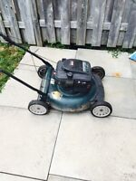 Yard machine lawn mower won't start