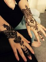 Henna tattoo/ Party Henna/ bridal Henna