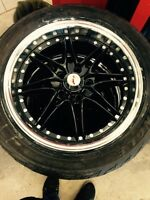 17 rims and tires 5x110