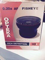 Opens fisheye (camera shot magnifier)