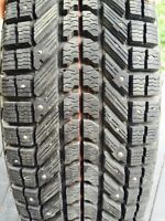 4 Studded WINTER TIRES 235/65/16