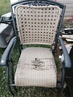 Patio chairs set of 4 $30 OBO