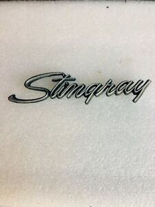 Corvette stingray emblem