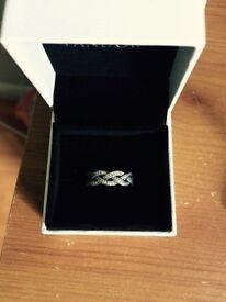 Pandora braid ring