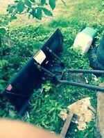 Warn bike plow angles side to side