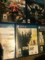 Selling some ps4 games cheap