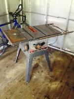 Heavy table saw