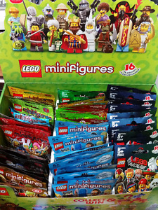 LEGO MINIFIGURES from SERIES 1-16 SEALED LEGO PKGS & SETS