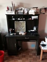 Desk, trunk, coffee table, side table