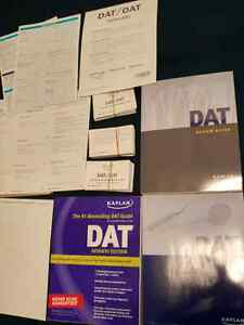 DAT Kaplan Package: Guide, Lesson Books, Soap, Flashcards Kitchener / Waterloo Kitchener Area image 1