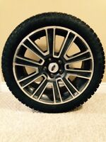 "19"" Pirelli studded winter tires 255-40-19 Bolt Pattern 5x114.3"
