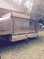 1973 Coleman pop-up tent trailer