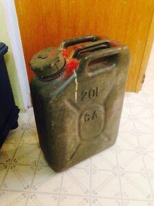 20 Litre Military Gas Jug