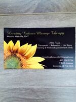 Massage Therapist in Lacombe Accepting New Clients