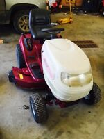 """42"""" white lawn tractor"""