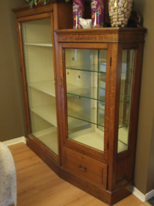 Antique Display Case or hutch