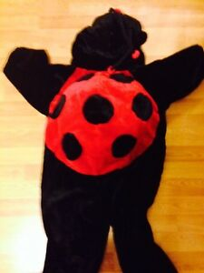 Lady bug costume size 5/6