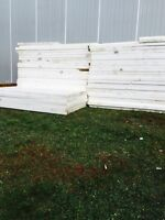 "3"" styrofoam insulation 4X8 sheets"