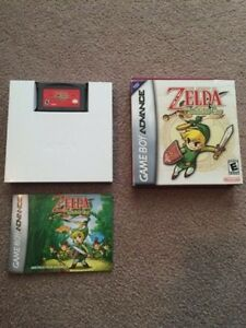 The Legend of Zelda: The Minish Cap - Complete With Box