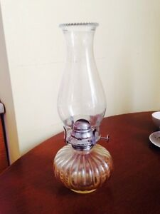Vintage Lamplight Farms USA Oil Lamp
