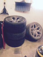 BMW X5 tires with rims for Sale!!